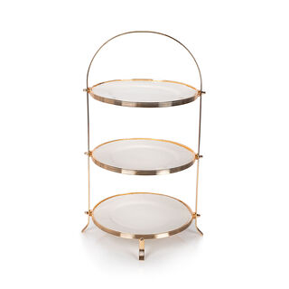 3 Tiers Round Serving Stand
