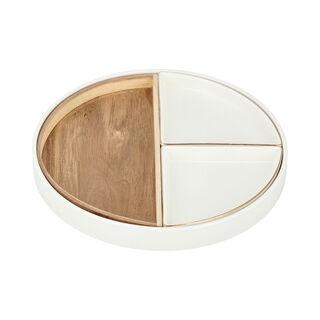 Nuts Bowls 1Pc Porcelain White Blend