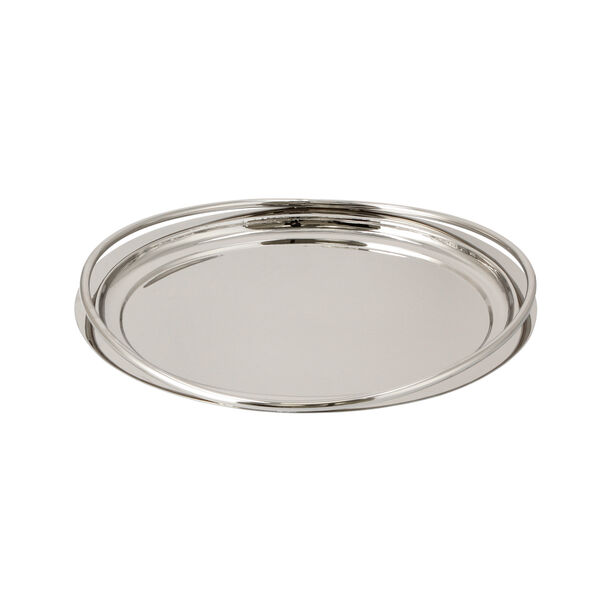 Steel Tray Round Fence Silver image number 2