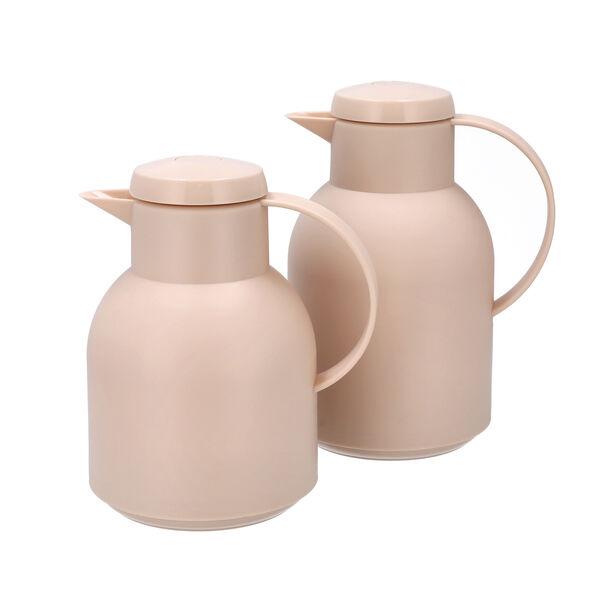 2Pcs Plastic Vacuum Flask Samoan Sand image number 0