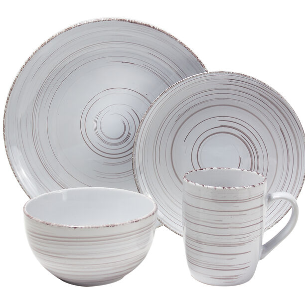 16 Pcs Porcelain Dinner Set  image number 0