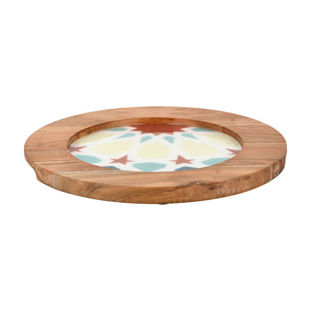 Arabesque Round Charger Plate image number 3