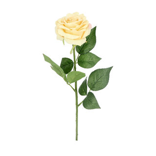 Artificial Flower Rose Cream