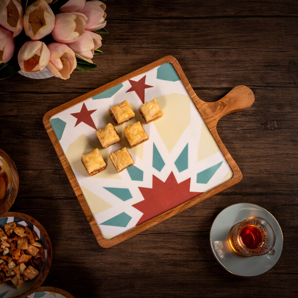 Arabesque Square Serving Tray image number 4