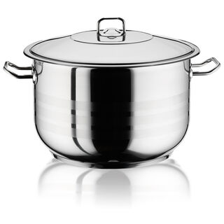 Stockpot With Stainless Steel Lid