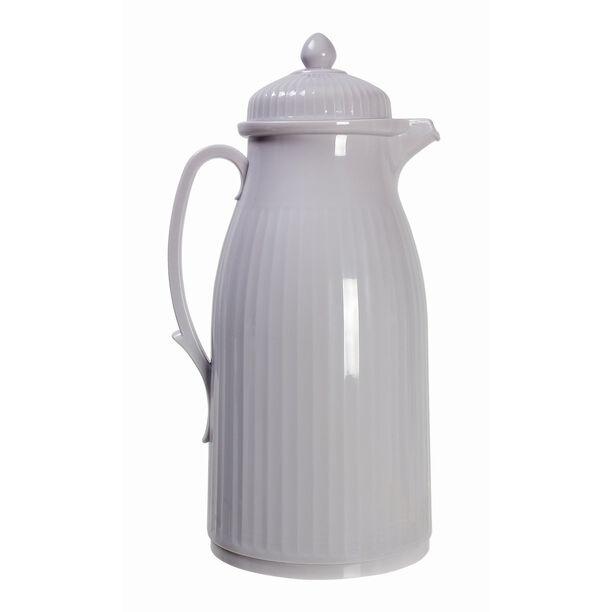 Dallety Plastic Vacuum Flask Classic Grey 1L image number 0