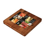 Acacia Wood Cutting Board Square image number 2