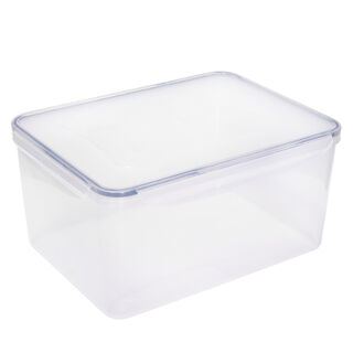 Alberto Plastic Food Saver  Rect Shape V-7.8L Blue Lid