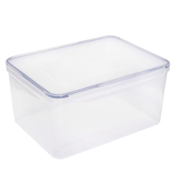 Alberto Plastic Food Saver Rect Shape V:7.8L Blue Lid image number 0