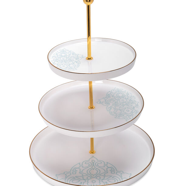 3 Tier Cake Stand Ornament image number 1