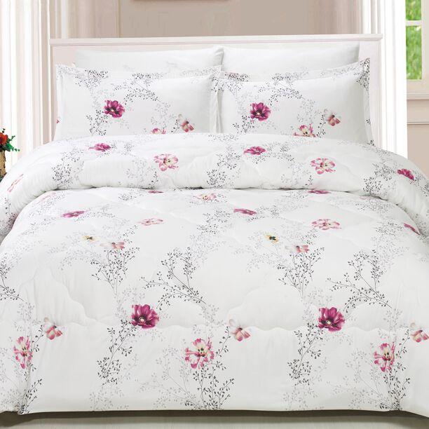 Yade Microfiber Comforter Set King Size 5 Pieces image number 3