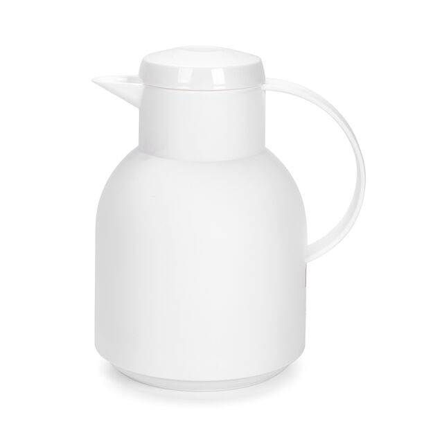 Plastic Vacuum Flask Sampa White 1L image number 0