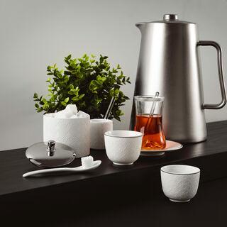 طقم شاي و قهوة عربي 28 قطعة