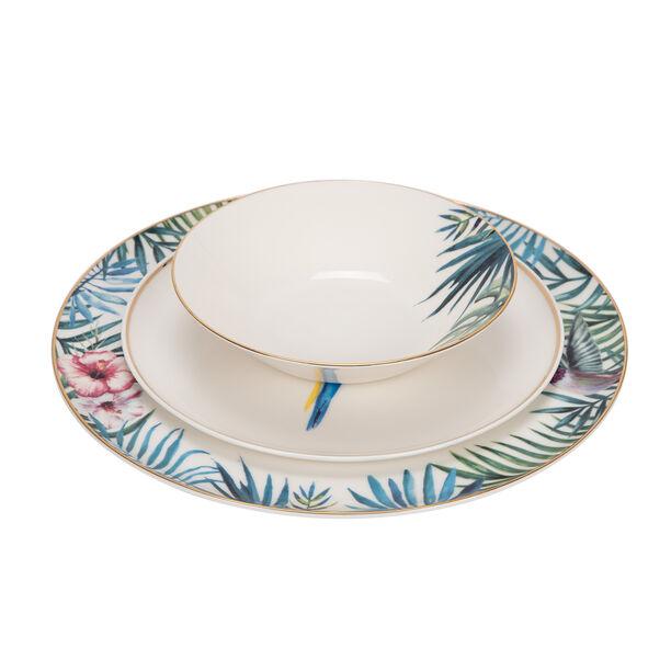 Porland 18 Pcs Dinner Set Serve 6 Persons,Exotic image number 1