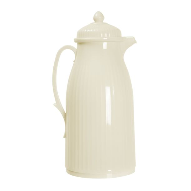 Dallety Plastic Vacuum Flask Classic White 1L image number 0