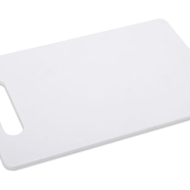لوح تقطيع بلاستيك أبيض image number 0