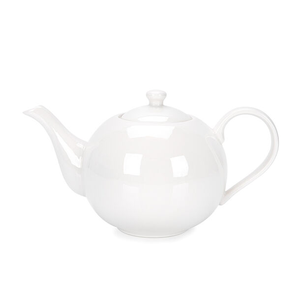 English Tea Pot White image number 0