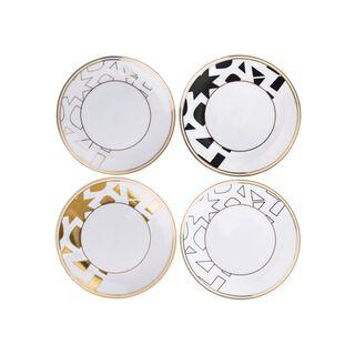 La Mesa Casa Blanca Dessert Plates 4 Pieces