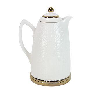 Dallety Porcelain Vacuum Flask Kan Ya Mkan White 1L