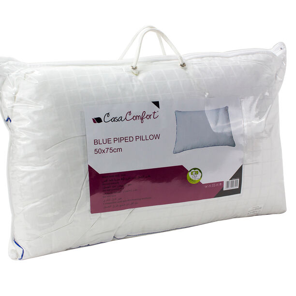 Blue Piped Pillow image number 3
