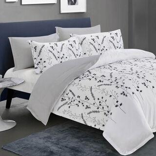 4 Pcs Comforter Twin Size Set Ivy