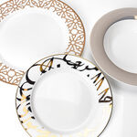 18 Pcs Porcelain DinnerSet Kan Ya Makan image number 2
