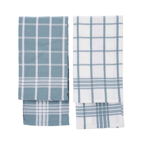 Cottage 2 Pieces Kitchen Towel Set L: 50 * W: 30Cm Summer Sea Design Blue Color image number 1