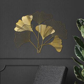 """Wall Art """"Ginkgo"""" Leaf"""