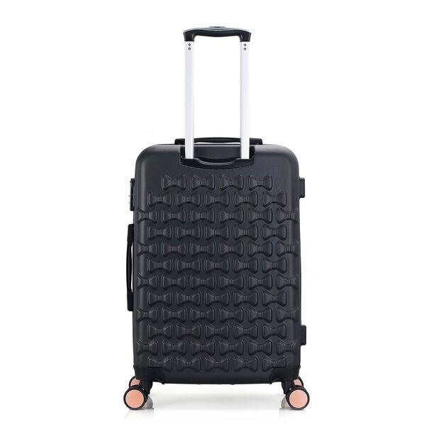 Travel Vision Set Of 4 Butterfly+Vanity Bag Black  image number 4