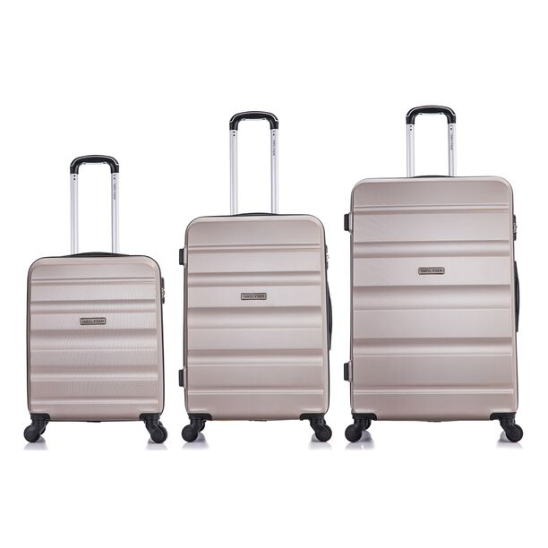 Travel Vision Bag Set 3 Pieces Youth Champagne image number 1