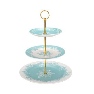 La Mesa Rosa 3 Tiers Cake Stand Tiffany