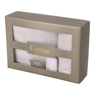 Cottage Cotton Gift Box Purple