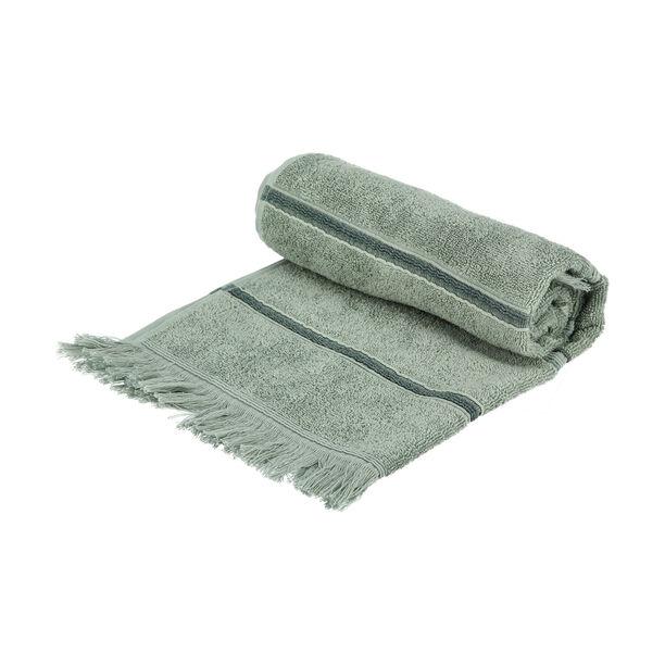 Hand Towel Stripe Green image number 1