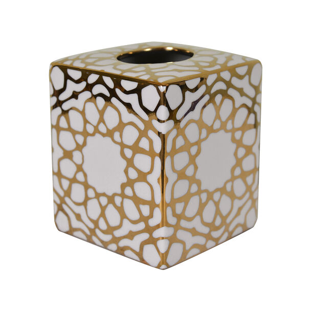 Tissue Box Gold Pattern image number 0