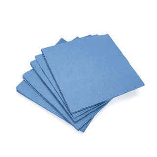 Ambiente Elegance Serving PaperNapkinsJeans Blue Color
