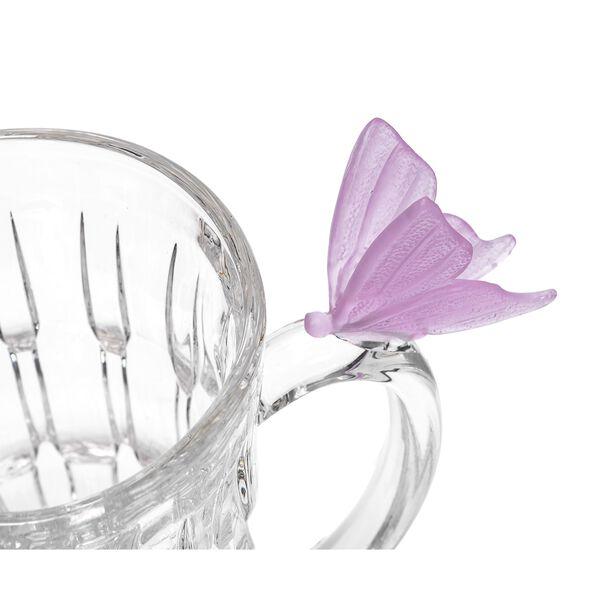 La Mesa 7 Pieces Pink Butterfly Jug Set  image number 2
