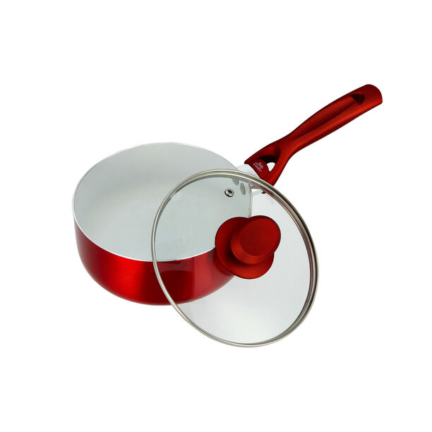 Non Stick Sauce Pan with Glass image number 2