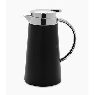 Dallety Steel Vacuum Flask Pipe Chrome/Black 0.7L