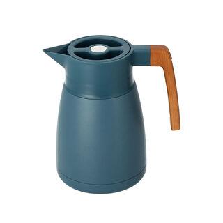 Steel Vacuum Flask Nature Matt Silver Arabesque