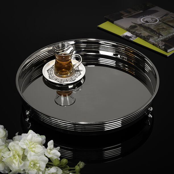 Steel Tray Round Ribbed image number 4