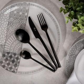 Abundance 16 Pcs Cutlery Set Matt Chrom Color