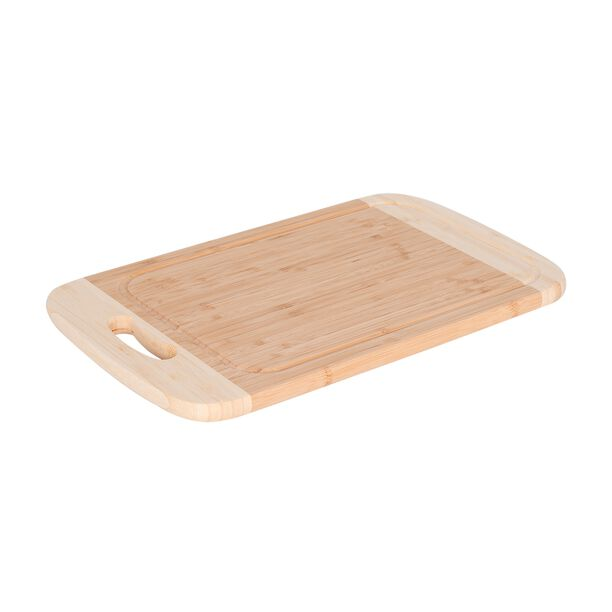 Bamboo Cutting Board With Juice Grooved Borders  image number 0