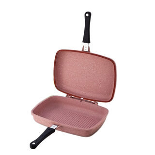 Alberto Granit Double Side Grill Premium Pinky