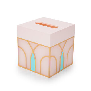 "Tissue Box ""Blush"""