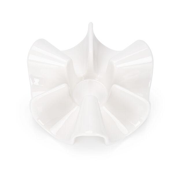 Pot Warmer Porcelain Arch White image number 1
