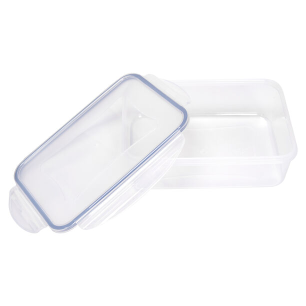 Alberto Plastic Food Saver Rect Shape V:1.5L Blue Lid image number 2
