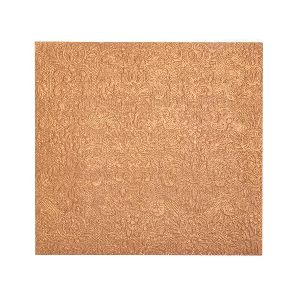 Elegance Serving Napkins Paper Square Bronze image number 1