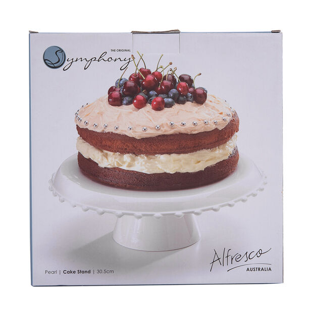 Cake Stand Pearl 30.5*30.5*1 Cm image number 1