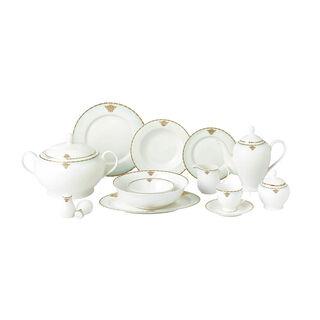 La Mesa 47 Pieces Porcelain Dinner Set