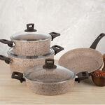 Alberto Granite Cookware Set Of 7 Pieces image number 3